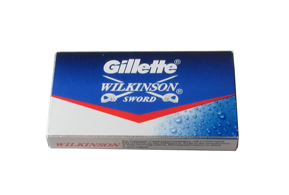発言する整然とした要求Wilkinson Sword (Indian) 両刃替刃 5枚入り(5枚入り1 個セット)【並行輸入品】