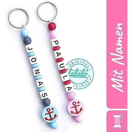 Autoschlüssel Schlüsselanhänger Buchstabe Taschenanhänger Name Pink Rosa Namen