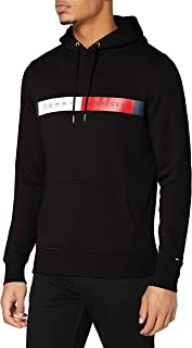 Tommy Hilfiger mens RWB LOGO HOODY rwb logo hoody sweater