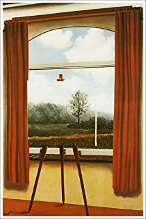magritte human condition print