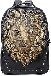 WEIXIERBackpack Portable Handbag Rivet Zipper Backpack Anti-Theft Backpack Men's Computer Backpack
