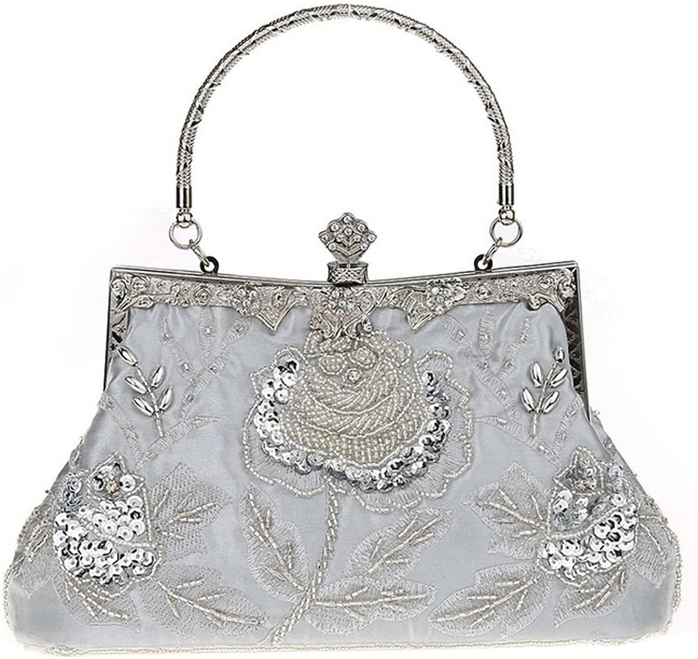 Belsen Women's Vintage Beaded Sequin Evening Handbags