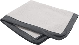 Furhaven Replacement Pet Bed Cover - Classic Cushion Sherpa and Suede Washable Dog Bed Mat Cover, Gray, Jumbo (X-Large)