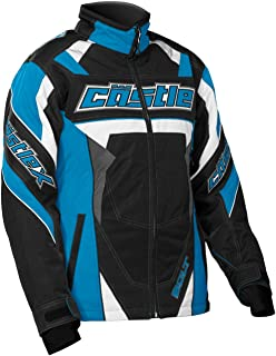 Castle X Bolt G4 Youth Girl's Snowmobile Jacket Reflex Blue XSM