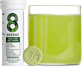 8Greens Immunity and Energy Effervescent Tablets – Packed with 8 Powerful Super..