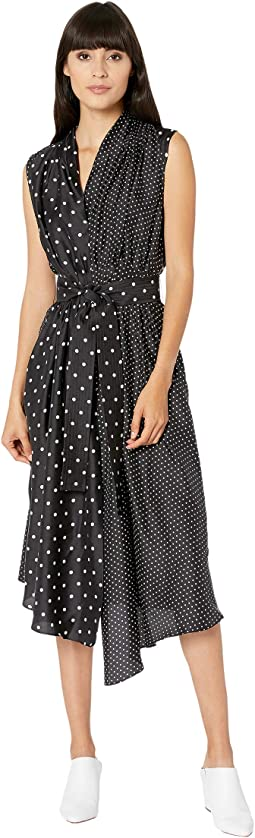 Polka Dot Black/White