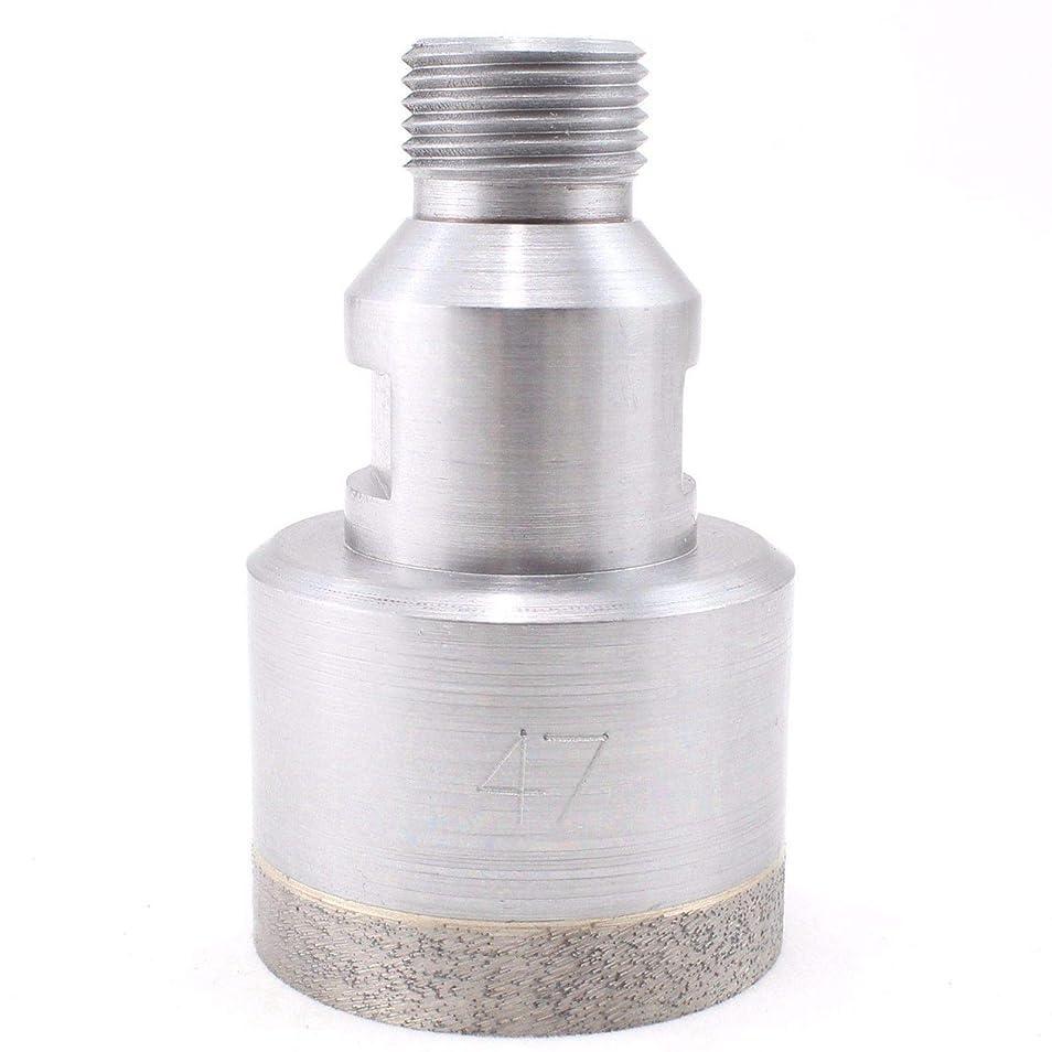息苦しい流産何十人もFidgetFidget ダイヤモンドドリル ビットホールカッター スレッド ベルギーマウントガラス 5-55mm 1/2インチ 51mm (close to 2 inch) tuantuanzhuanUSW-HARSH-917-1F1BA1B626