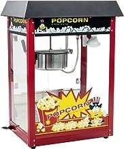 Royal Catering Machine À Popcorn Professionnelle RCPS-16E (1600 W, 5 Kg/Heure, 16 l/h, Marmite ø18,5 cm, Revêtement Téflo...