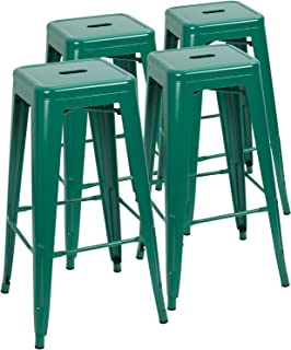 Strange Amazon Com Green Barstools Home Bar Furniture Home Customarchery Wood Chair Design Ideas Customarcherynet