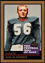 Football NFL 1991 ENOR Pro Football HOF #126 Joe Schmidt NM-MT+ Lions