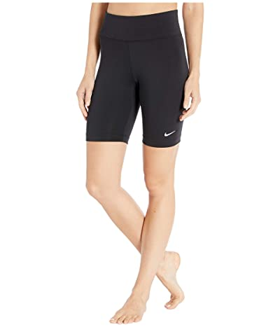 Nike NSW Leg-A-See Bike Shorts (Black/Black/White) Women