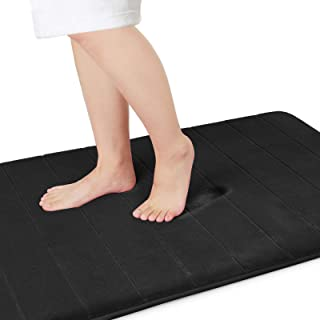 Yimobra Memory Foam Bath Mat Large Size,70 x 24 Inches, Soft and Comfortable, Super Water Absorption, Non-Slip, Thick, Mac...