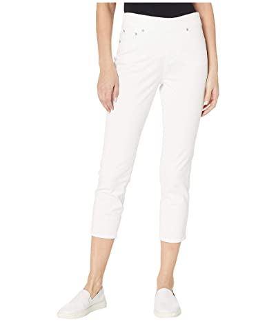 Jag Jeans Maya Pull-On Twill Crop (White) Women