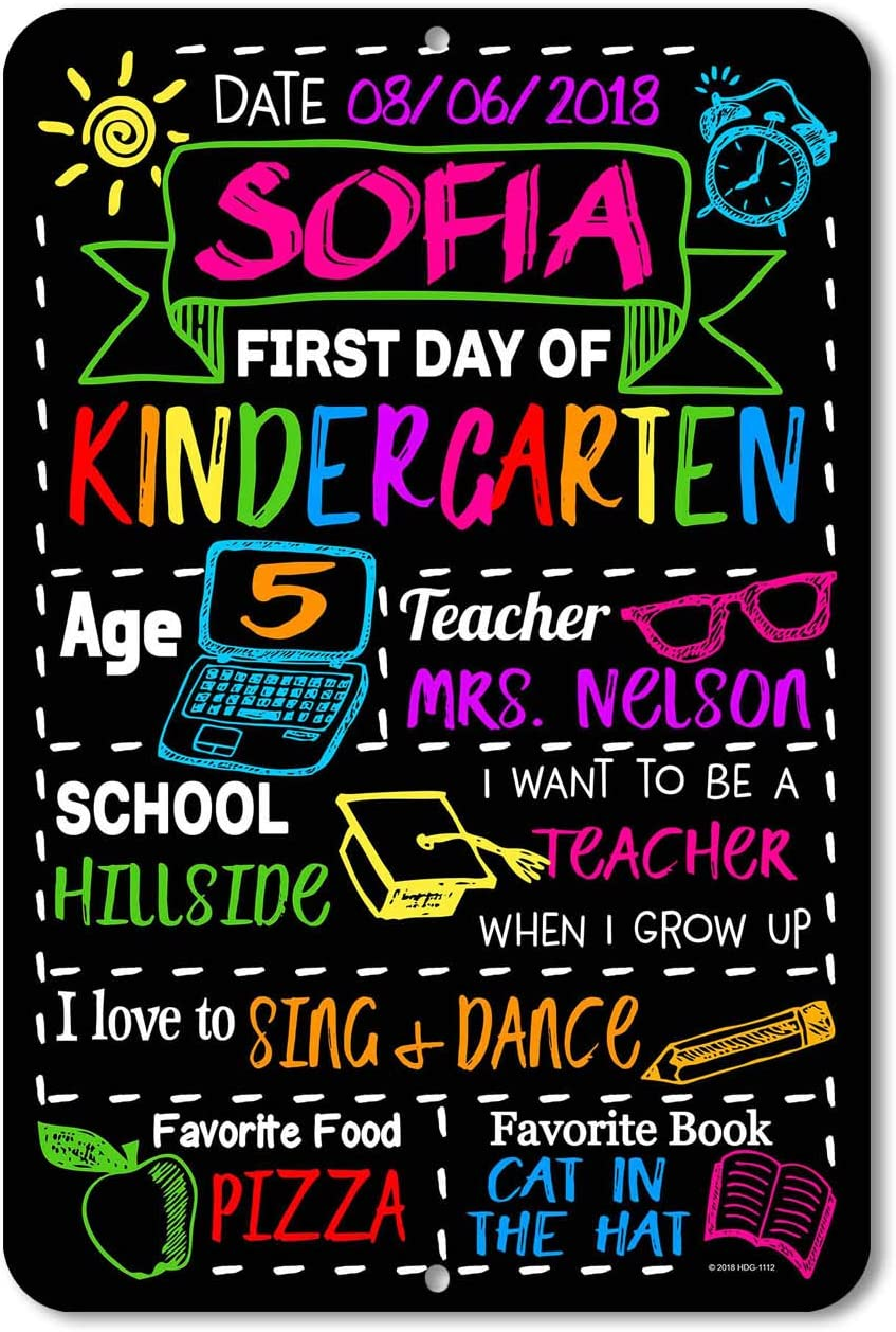 Chalkboard Sign First Day of School Chalkboard Sign First Day of School Sign 1st Day of School Sign Back to School Sign