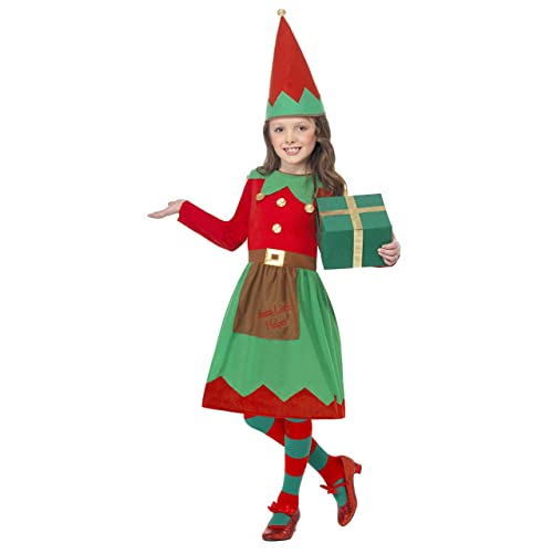 0763b9bad0 Elf Christmas Fancy Dress Costume  Amazon.co.uk