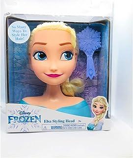 Frozen Disney Elsa Styling Mini Head 7 Inches