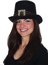 Felt Big Buckle Pilgrim Top Hat