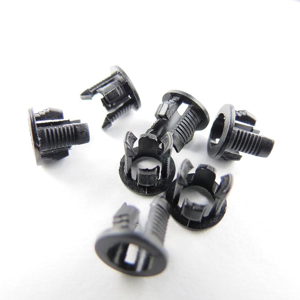 100 Pieces Black Plastic 3mm LED Clip Holder Display Panel Mount Cases (3mm, LED Holder)