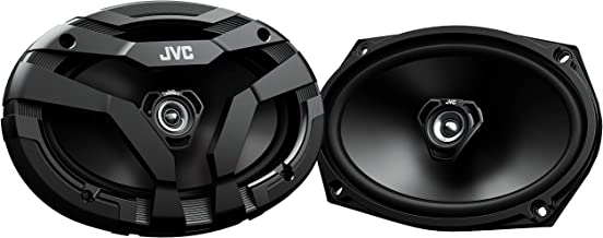 $42 » JVC CS-DF6920 DRVN Series 6x9 inch 2-Way 400 Watt Car Speakers (Coaxial) - Set of 2 (Black) with Powerful Sound and Tough ...