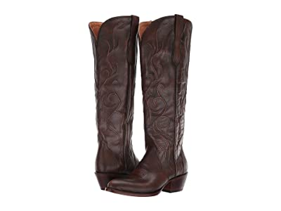 Lucchese Peri (Distressed Chocolate) Women