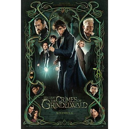 HARRY POTTER  POSTER Canvas art Fantastic Beasts 2 Crimes of the Grindelwald