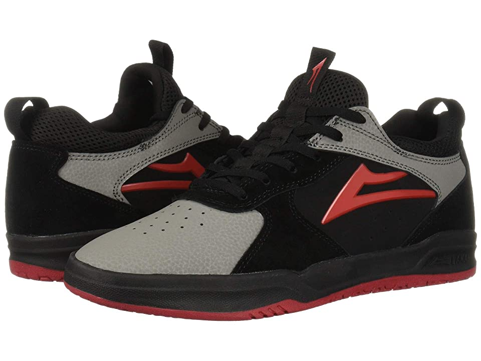 Image of Lakai Proto (Black/Grey Suede) Men's Shoes