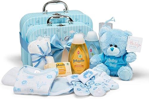 Coffret cadeau bébé I Cadeau naissance & baptême I Idée cadeau originale pour les nouveau-nés - Doux boîtes à mémoire...