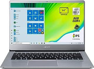 Acer Swift 3 SF314-58-597S Pc Portatile, Notebook con Processore Intel Core i5-10210U, 8 GB DDR4, 512 GB PCIe NVMe SSD, Di...
