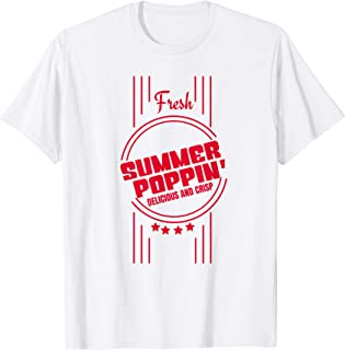 Fresh Summer Poppin' - Vintage Popcorn Box T-Shirt