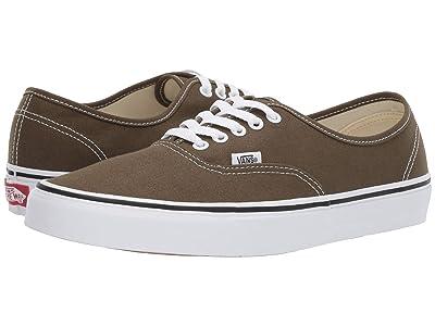 Vans Authentictm (Beech/True White) Skate Shoes