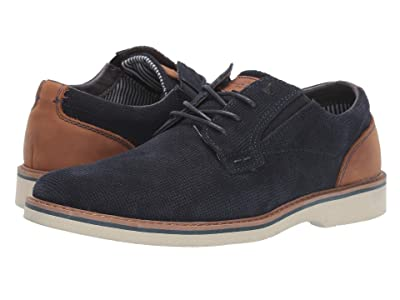 Nunn Bush Barklay Plain Toe Oxford (Navy Multi) Men