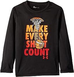 Make Every Shot Count Long Sleeve (Little Kids/Big Kids)