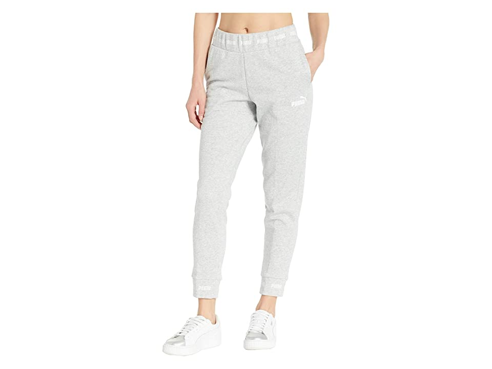 PUMA Amplified Sweatpants (Light Grey Heather) Women