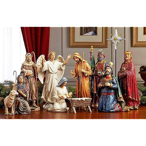 the latest 29616 e9f8d Large Nativity Sets: Amazon.com