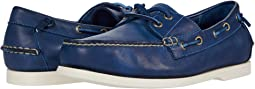 Navy Dip-Dye Leather