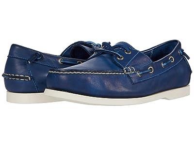 Polo Ralph Lauren Merton (Navy Dip-Dye Leather) Men