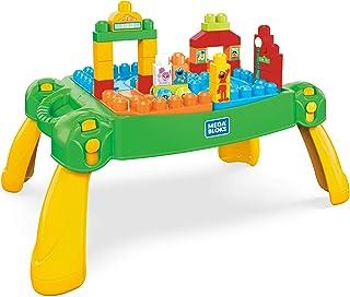 Mega Bloks Sesame Street Build and Learn Neighborhood Play Table