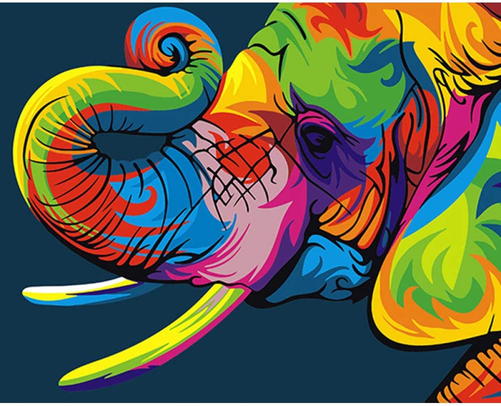 Digital Kit for DIY Paintings Adult Cheap SALE Philadelphia Mall Start Oil Gift Pai Canvas Children