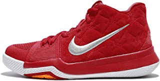 c23c1dc44c13f NIKE Kyrie 3 Grade School Basketball Shoe (6.5Y, University Red/Wolf Grey