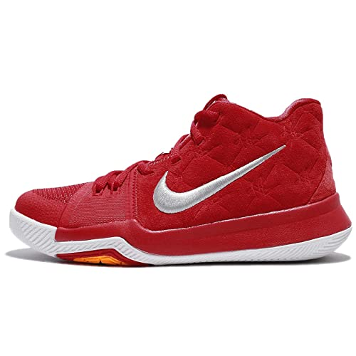 new styles 53c15 96351 NIKE Kid s Kyrie 3 GS, University Red University Red-Wolf Grey, Youth