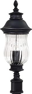 Minka Lavery Outdoor Post Lights 8909-94, Newport Cast Aluminum Exterior Lighting Fixture, 120 Watts, Heritage