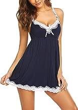Avidlove Women Sexy Sleepwear Lace Chemise Nightgown Full Slip Babydoll Sleepwear