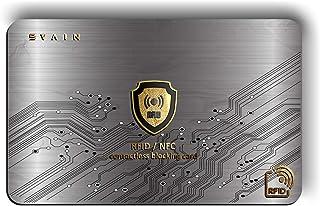 Protezione Rfid Carte Di Credito Contactless - Scheda Di Blocco Con Schermatura Rfid e Nfc - Proteggi Bancomat Passaporto ...