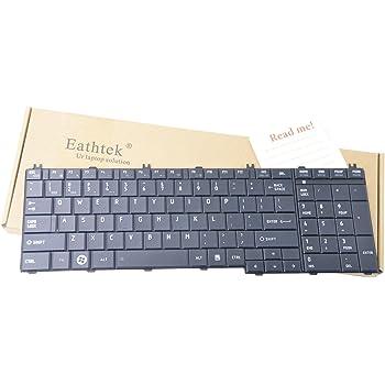 Pro C650-EZ1511 HQRP Keyboard for Toshiba Satellite L775-S7355 Pro C650-EZ1515D Notebook Plus HQRP Coaster Pro C650-EZ1512 Pro C650-EZ1513