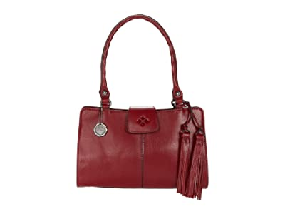 Patricia Nash Rienzo Satchel (Red) Satchel Handbags