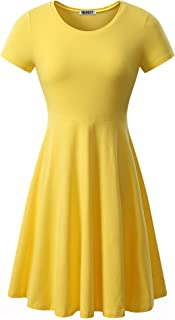 Best cheap yellow dress Reviews
