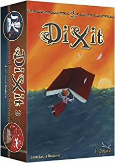 Asmodee - Libellud - recharge de 84 cartes - Dixit 2 Import Allemagne - version anglaise