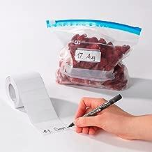 Super-Haftetiketten, 500 Stück, Klebestreifen für Tiefkühlbeutel oder eingemachte Vorräte