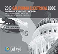 2019 California Electrical Code, Title 24, Part 3