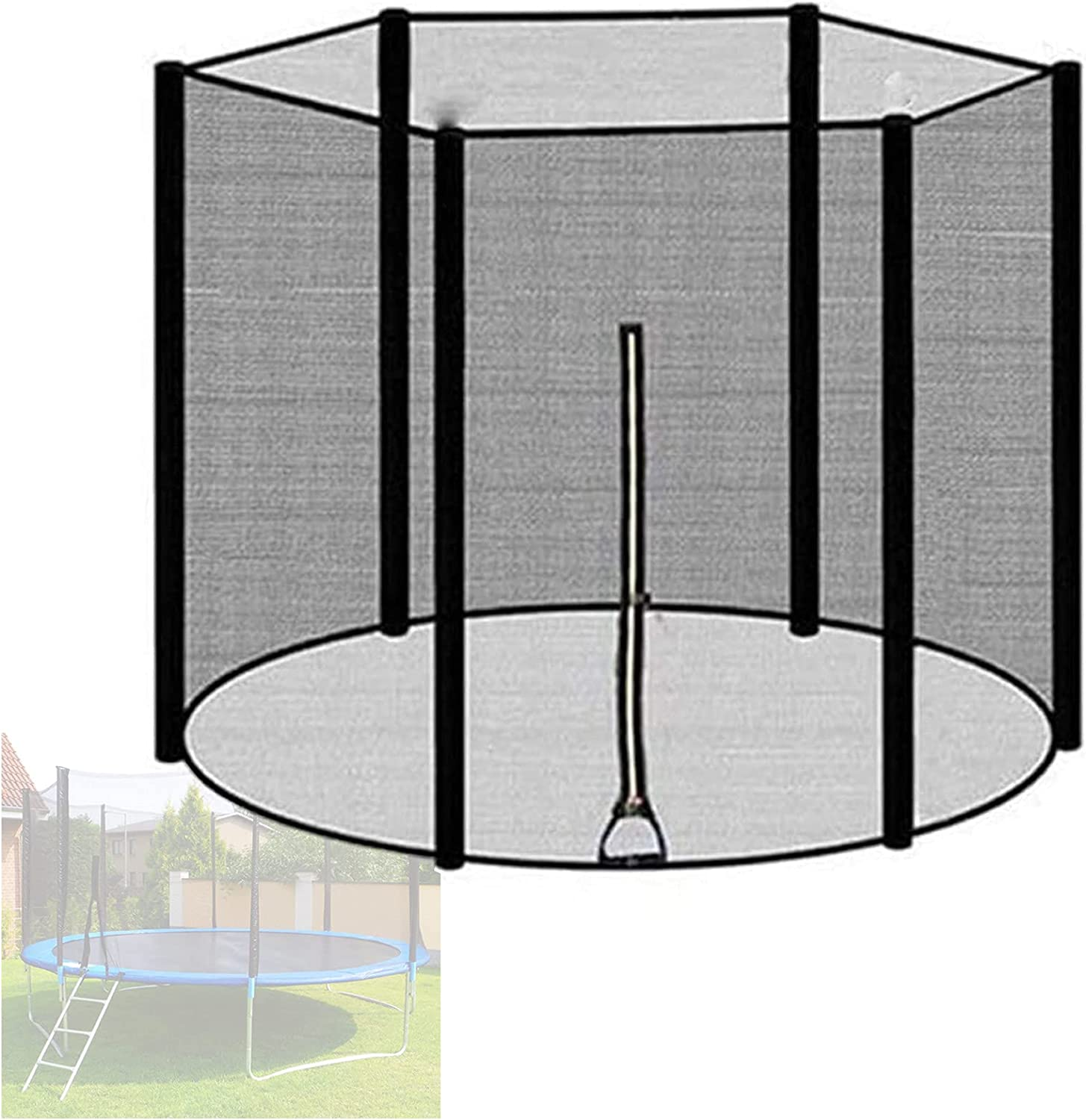 Finally popular brand KHXJYC Trampoline Safety Net Beauty products Replacement Fence 16Ft 6 Breath